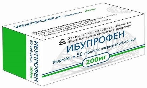 При выраженной воспалительной реакции часто сочетают Ацетаминофен с Ибупрофеном