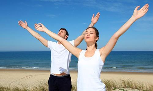 При бронхите рекомендуется выполнять дыхательную гимнастику
