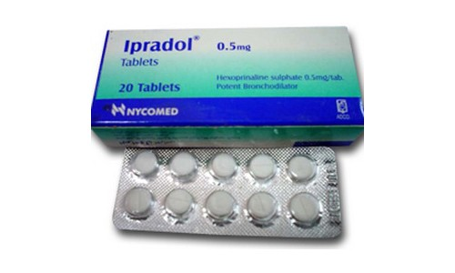 Бронхолитические препараты используются для симптоматической терапии хронического бронхита, сопровождающегося возникновением приступов удушья (Ипрадол и др.)