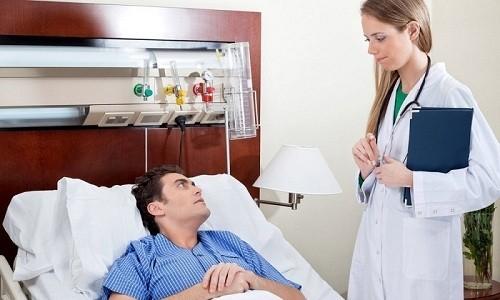 Тяжелые формы бронхита требуют госпитализации и постоянного наблюдения врача