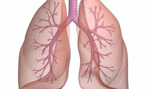 Препарат способствует очищению дыхательных путей от выделений слизистого характера
