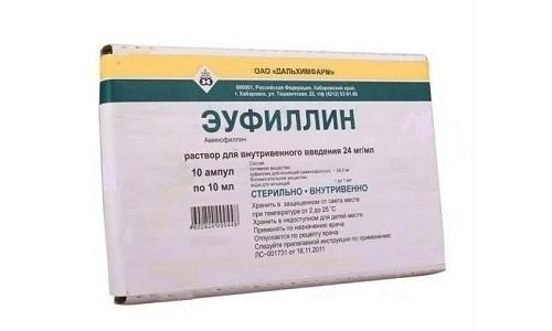 Эуфиллин раствор