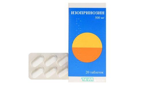 Схема терапии Изопринозином определятся заболеванием. При острой вирусной патологии давать лекарство нужно 5-14 дней