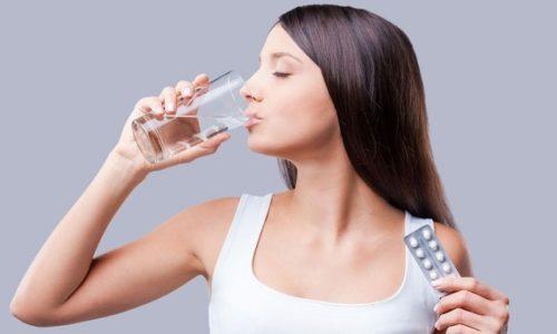 Капсулы нужно пить после еды, так как прием пищи ухудшает всасывание лекарства
