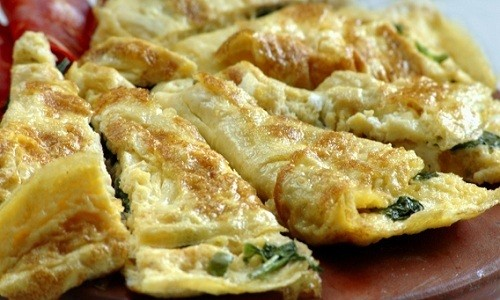 В четверг на завтрак можно приготовить паровой омлет