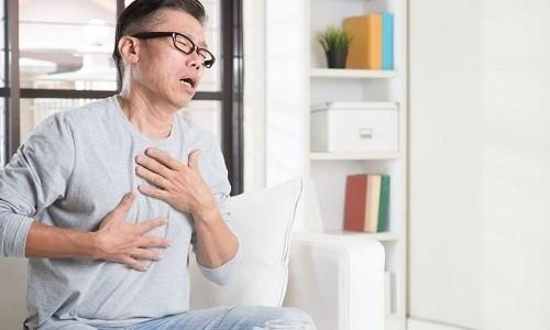 Важным симптомом при постановке диагноза служит одышка