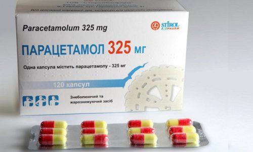 Парацетамол при совместном применении повышает гепатотоксичность