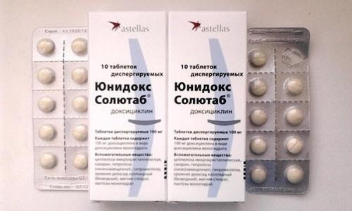 Юнидокс Солютаб широко используется в лечении и профилактике инфекционных заболеваний
