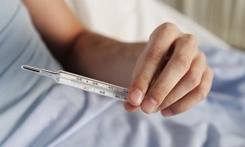 Жаропонижающие препараты даются только при температуре, превышающей +38°С