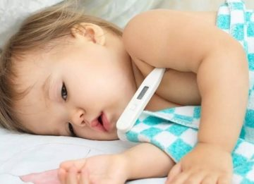 Сколько держится температура при бронхите у детей и как ее сбить
